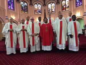 Priests at Annual MMP Retreat for Oceania, Kensington 2018